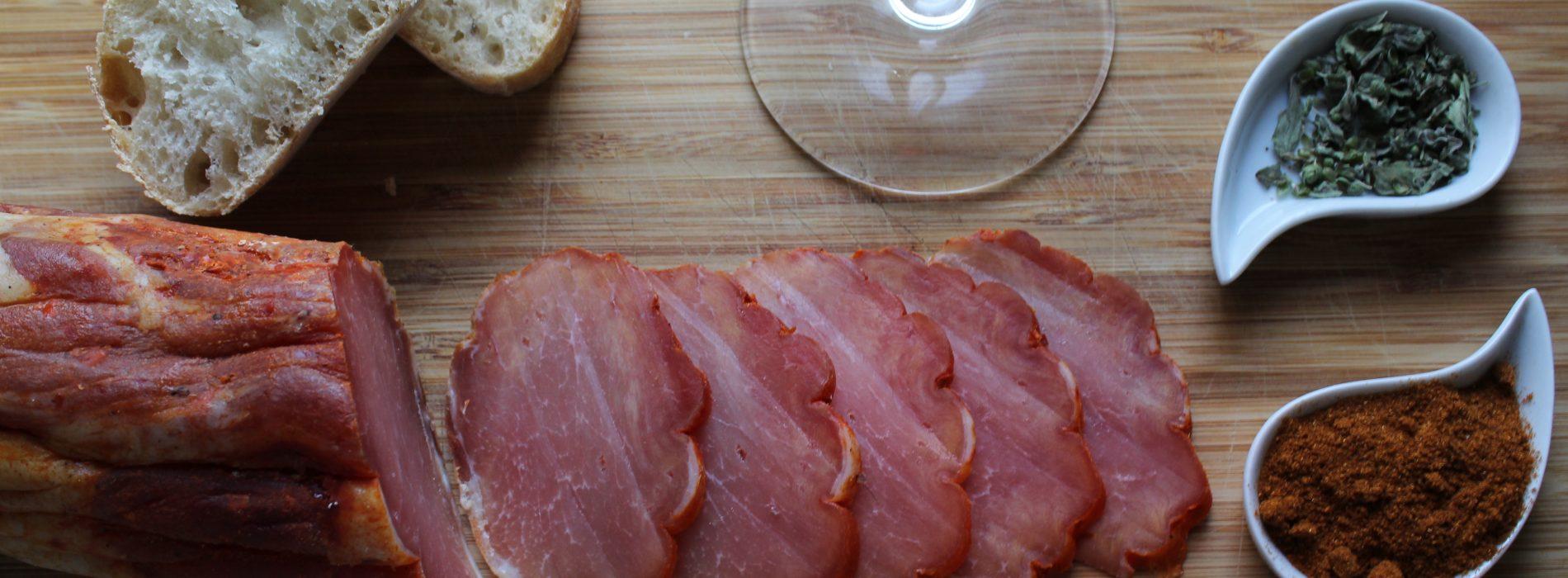 Lomo de cerdo con pimentón